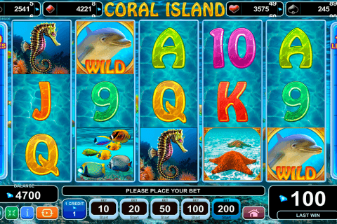 coral island egt pacanele