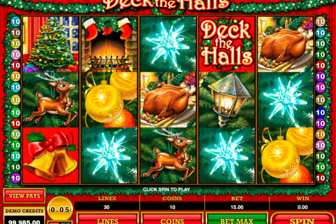 deck the halls microgaming pacanele