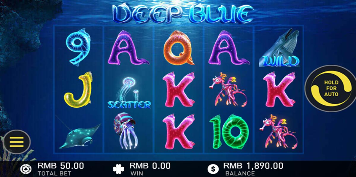deep blue gameplay interactive pacanele