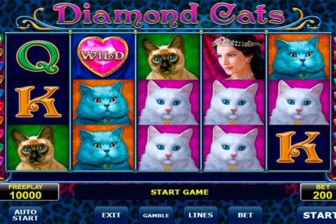 diamond cats amatic pacanele