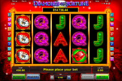 diamonds of fortune novomatic pacanele