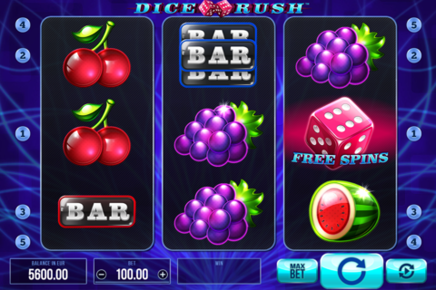 dice rush synot games pacanele