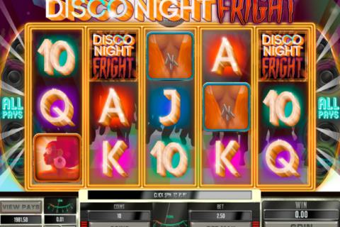 disco night fright genesis pacanele