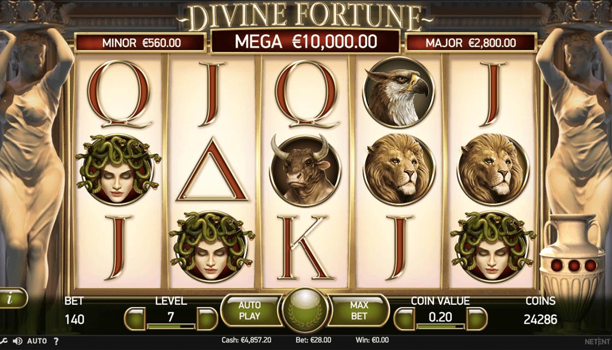 divine fortune netent pacanele