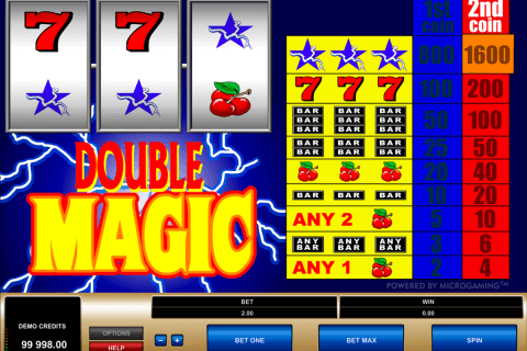 double magic microgaming pacanele