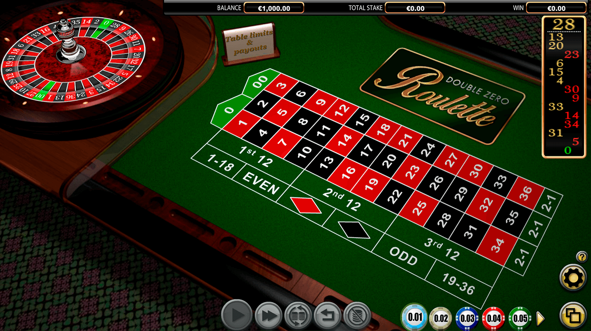 double zero roulette netgen gaming ruleta