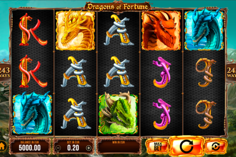 dragons of fortune synot games pacanele