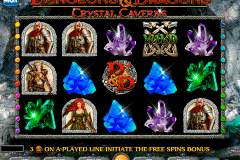 dungeons and dragons crystal caverns igt pacanele