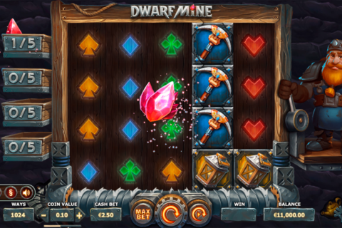 dwarf mine yggdrasil pacanele