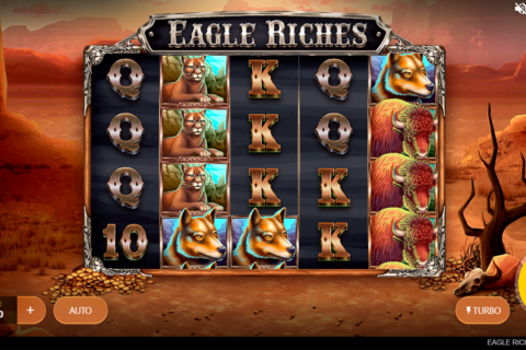 eagle riches red tiger pacanele