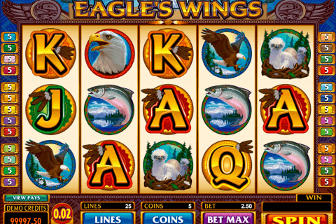 eagles wings microgaming pacanele