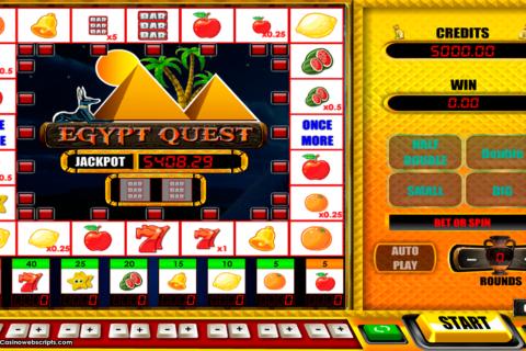 egypt quest egt pacanele