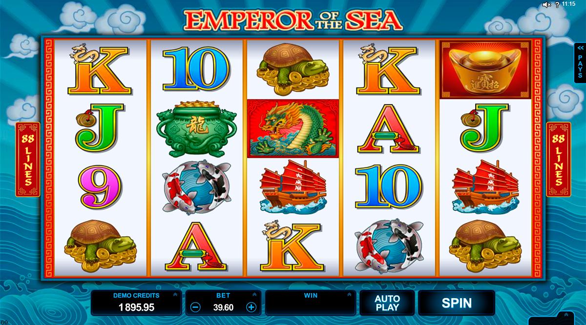 emperor of the sea microgaming pacanele