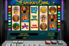 emperors china novomatic pacanele