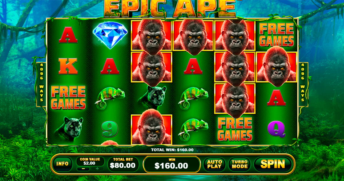 epic ape playtech pacanele