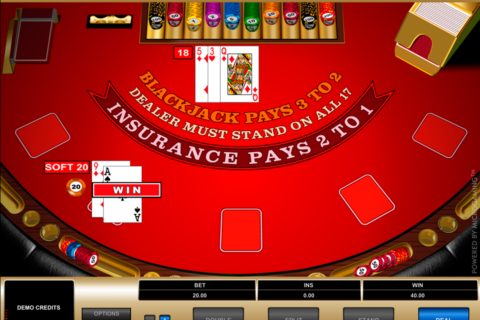 european blackjack microgaming online