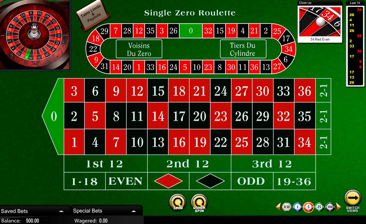 european roulette amaya ruleta