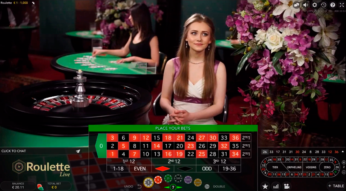 european roulette evolution gaming ruleta