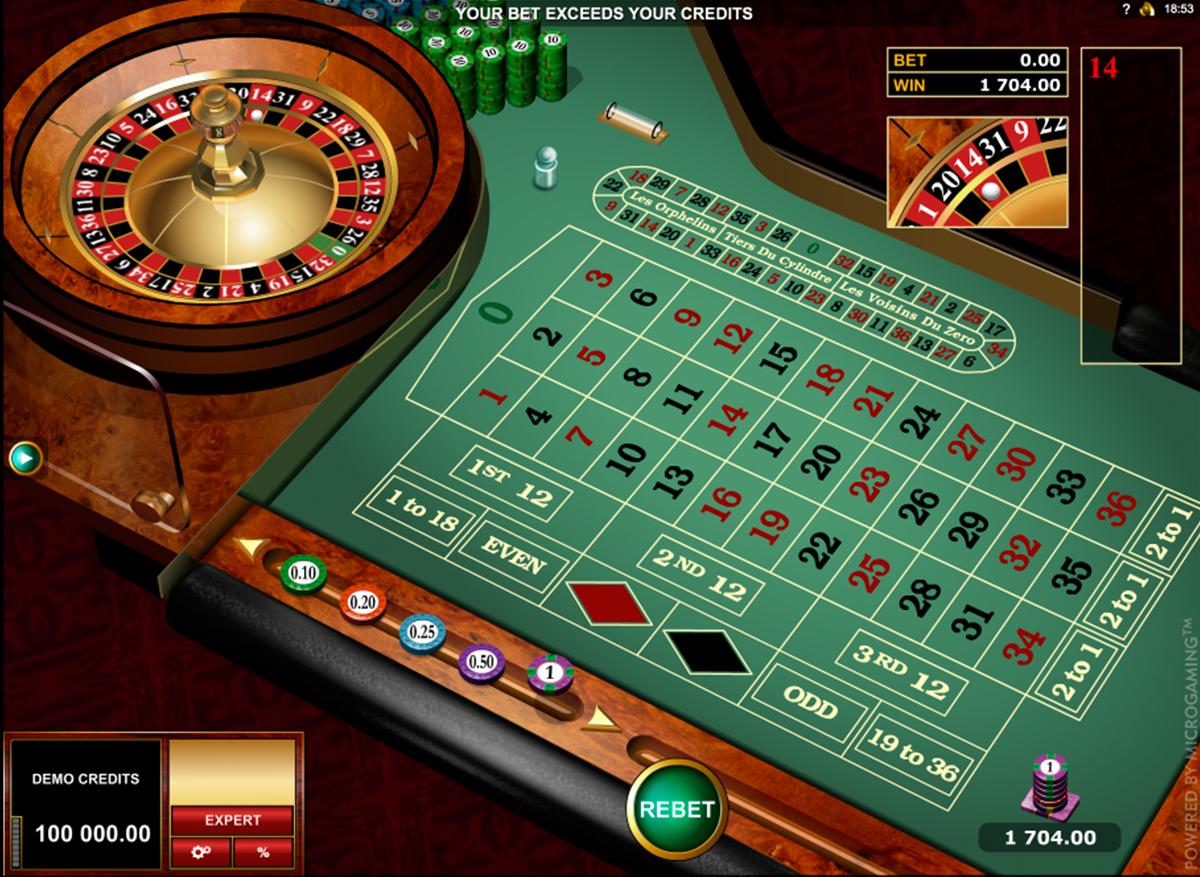 european roulette gold series microgaming ruleta
