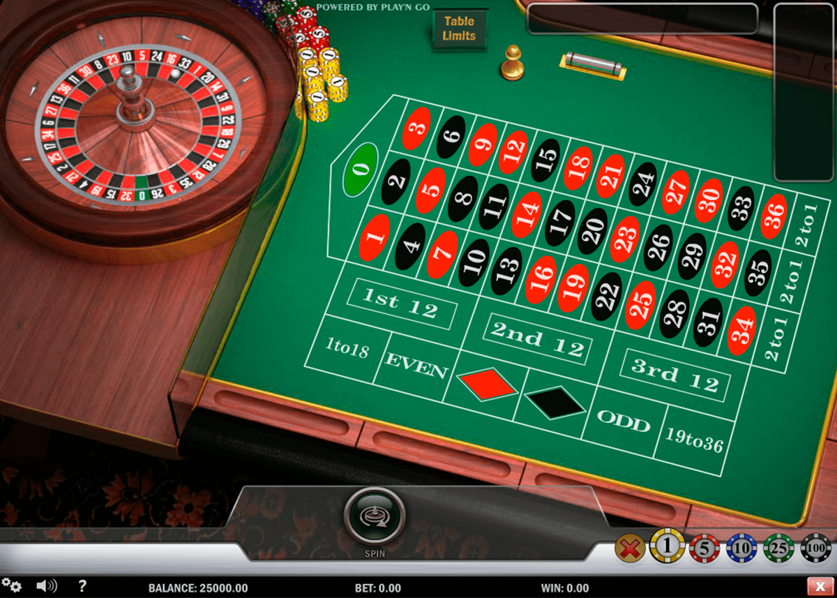 european roulette playn go ruleta