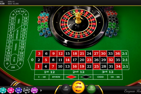 european roulette red tiger ruleta