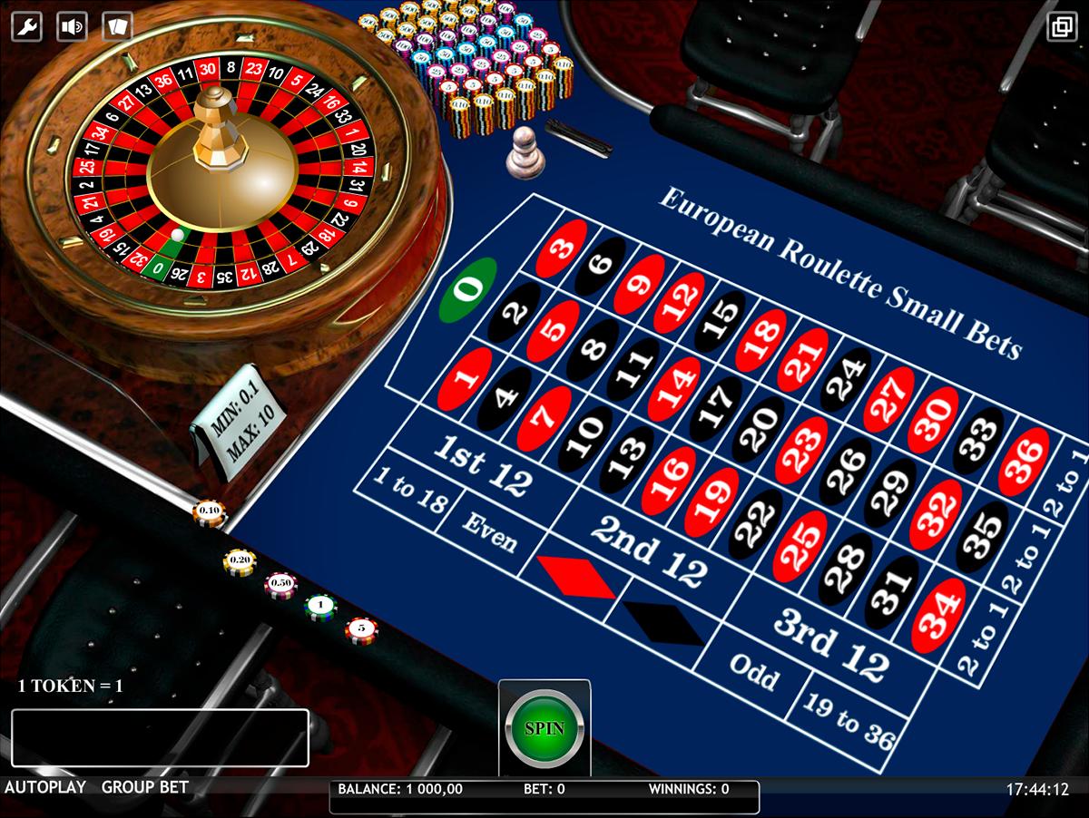 european roulette small bets isoftbet ruleta