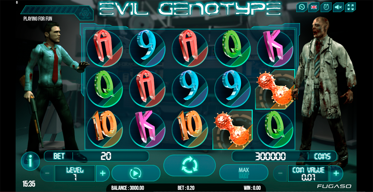 Spiele Evil Genotype - Video Slots Online