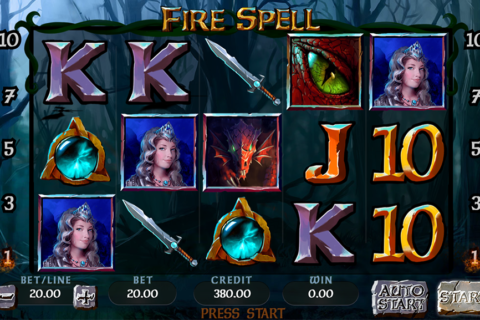 fire spell synot games pacanele