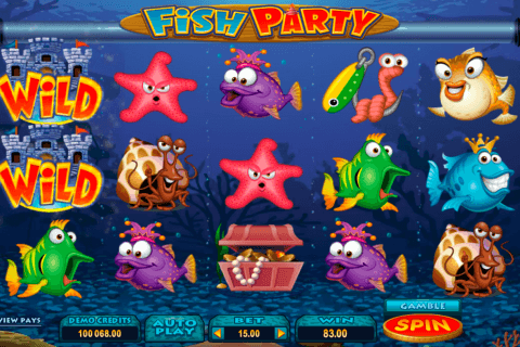 fish party microgaming pacanele