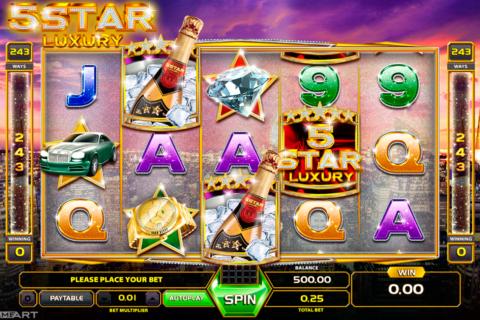 five star luury gameart pacanele