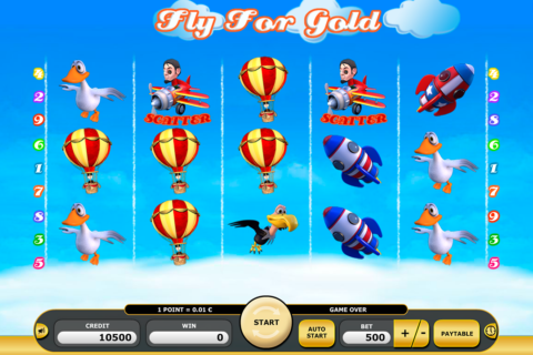 fly for gold kajot pacanele