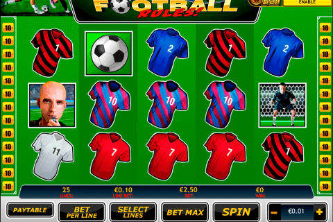 football rules playtech pacanele