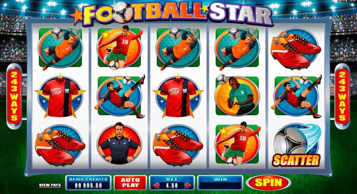 football star microgaming pacanele