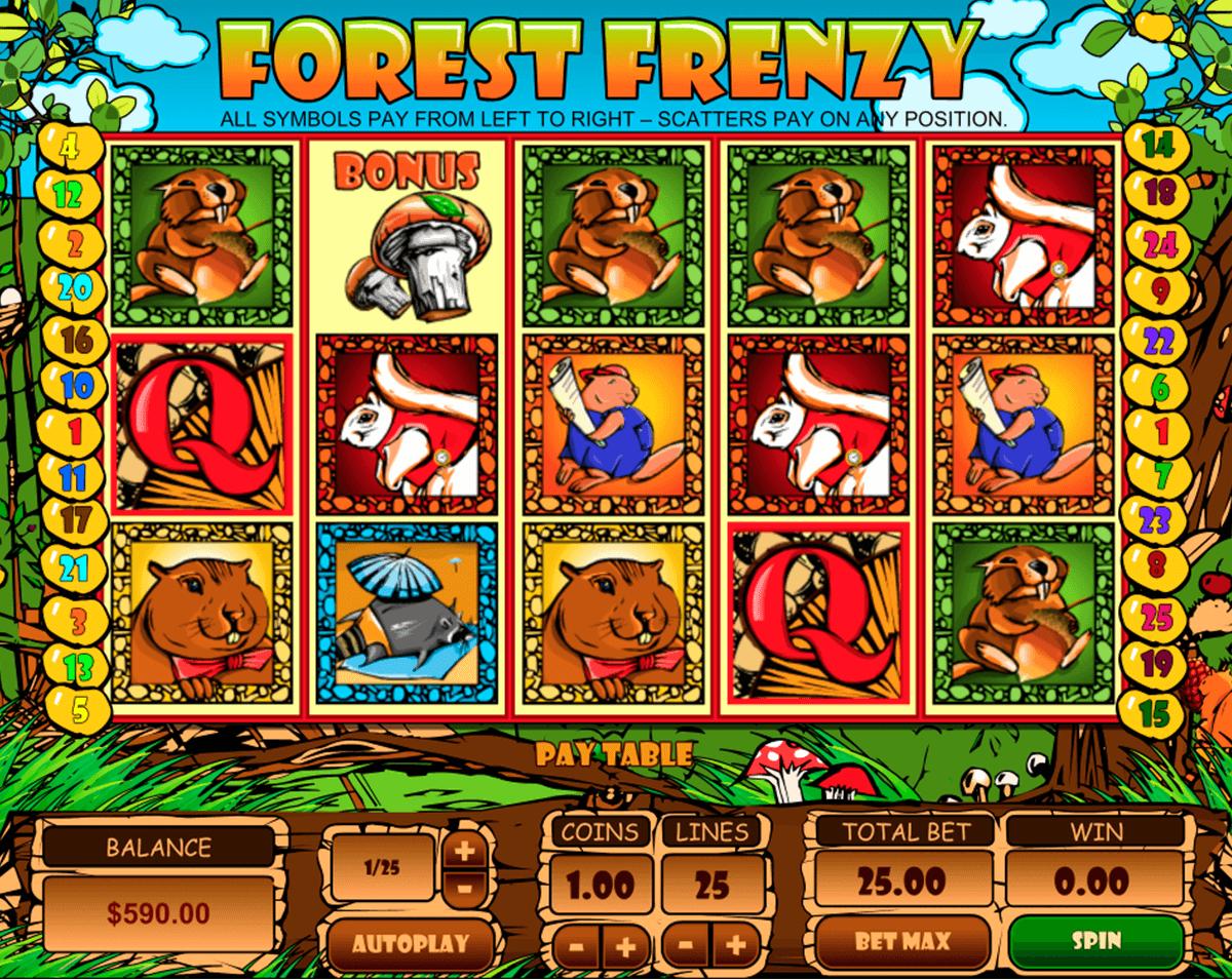 forest frenzy pragmatic pacanele
