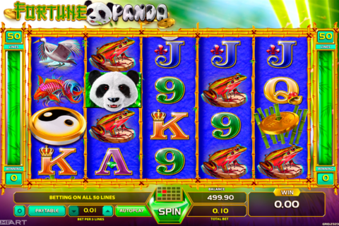 fortune panda gameart pacanele