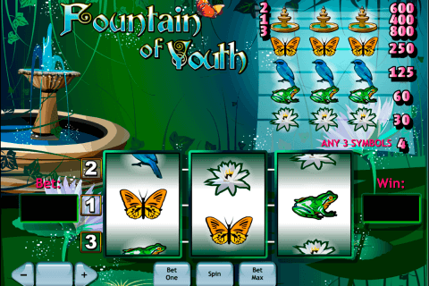 fountain of youth playtech pacanele