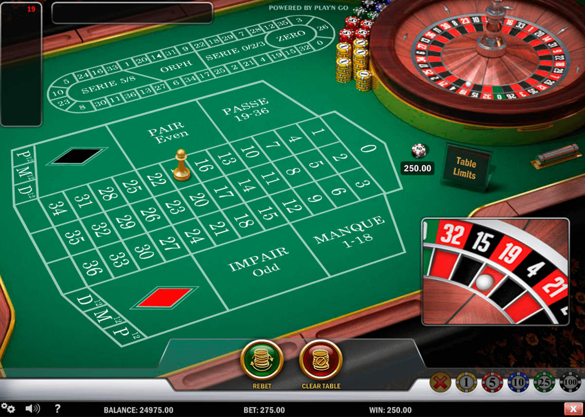 french roulette playn go ruleta
