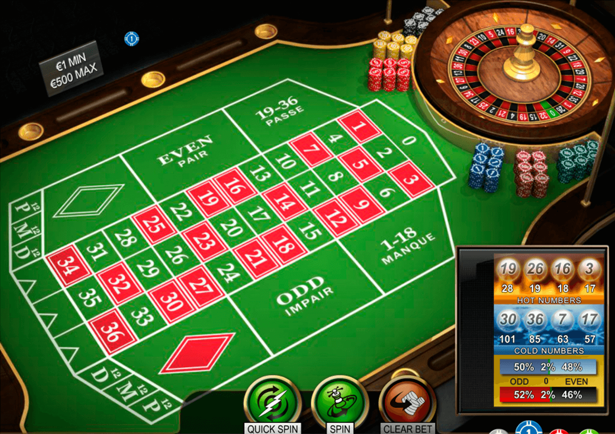 french roulette pro series netent ruleta