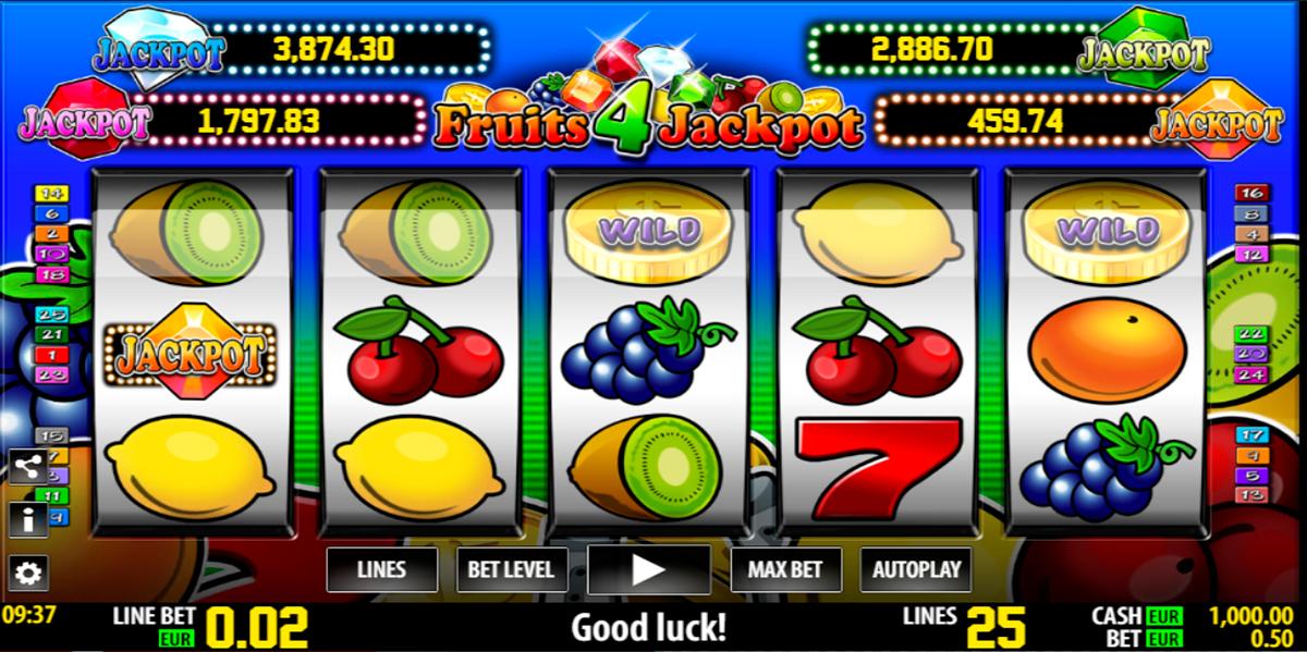 fruits 4 jackpot world match pacanele
