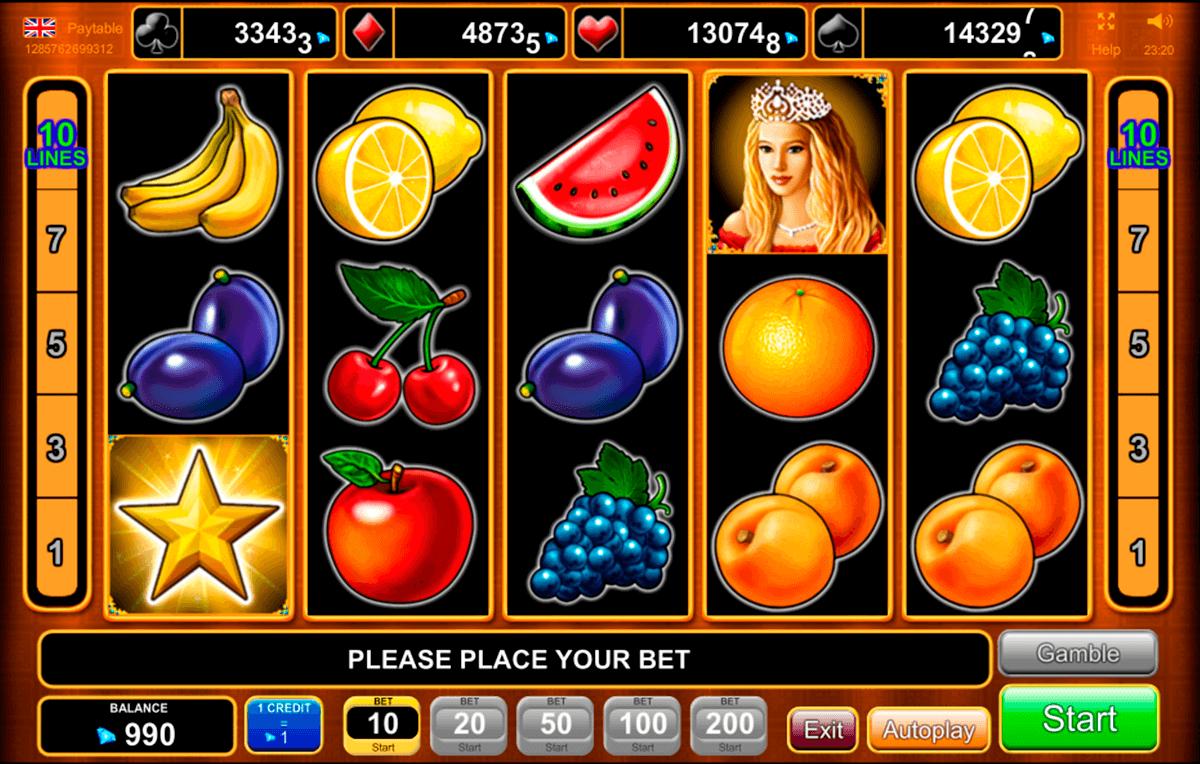 fruits kingdom egt pacanele