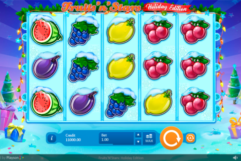 Spiele Fruits And Stars: Holiday Edition - Video Slots Online