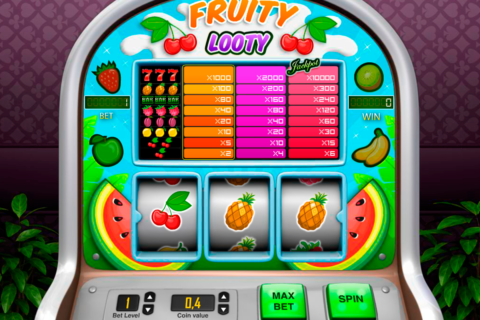 fruity looty pariplay pacanele
