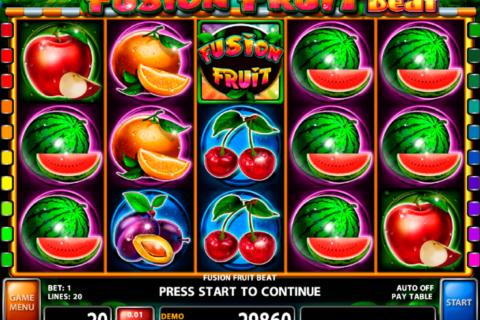 fusion fruit beat casino technology pacanele