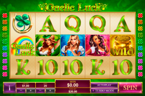 gaelic luck playtech pacanele
