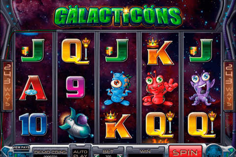 galacticons microgaming pacanele
