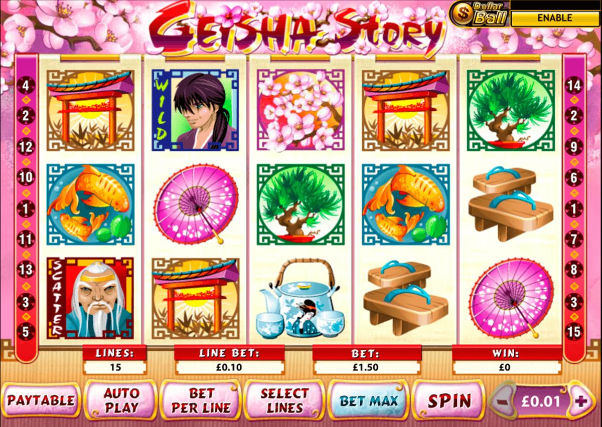 geisha story playtech pacanele