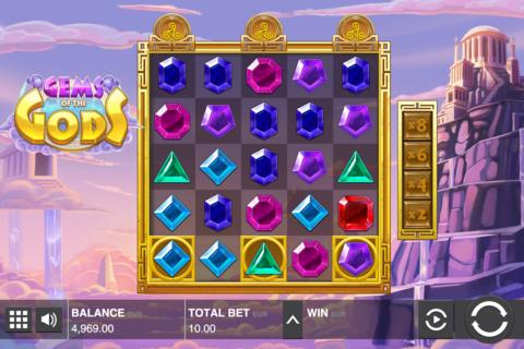 gems of the gods push gaming pacanele