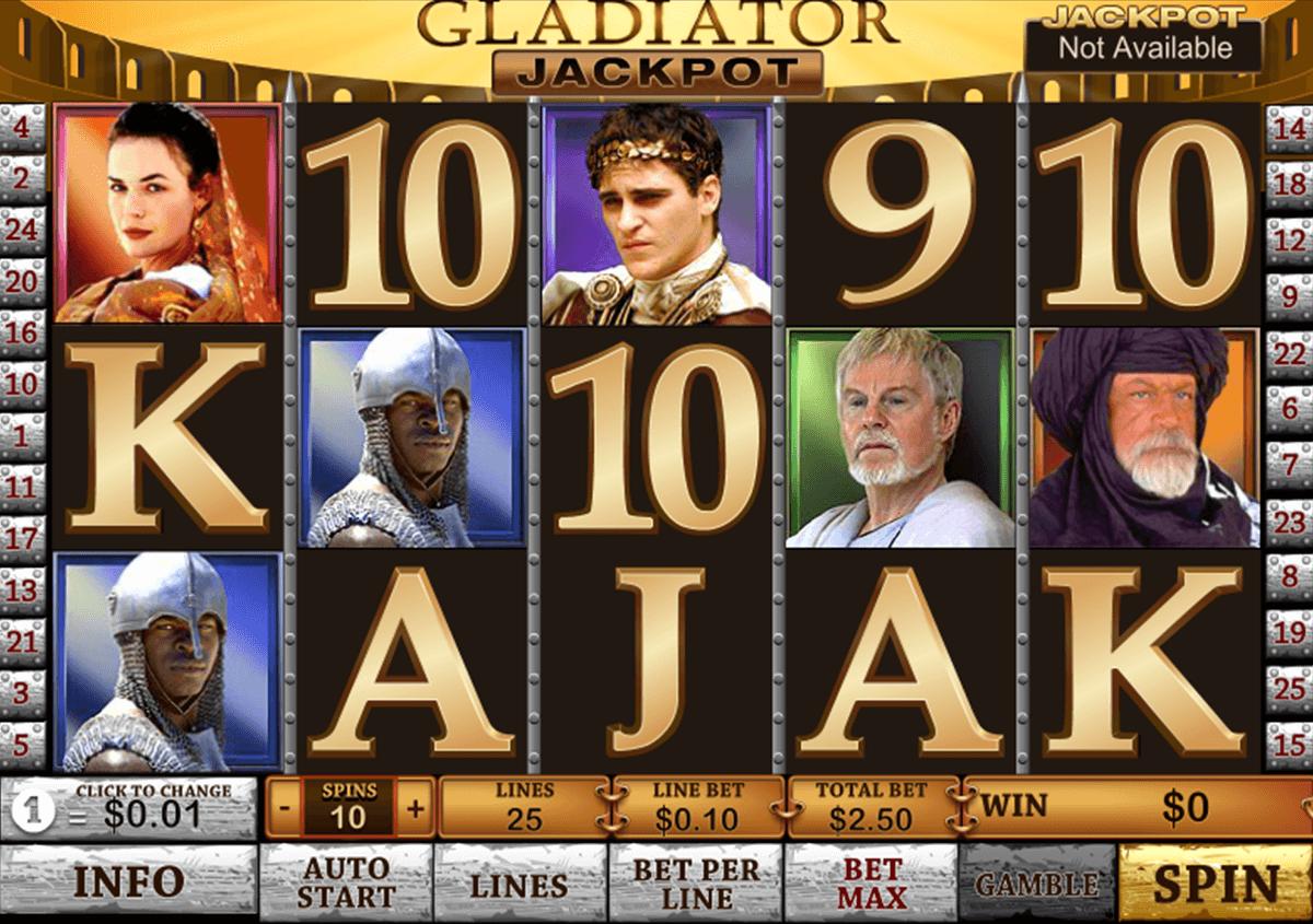 gladiator jackpot playtech pacanele