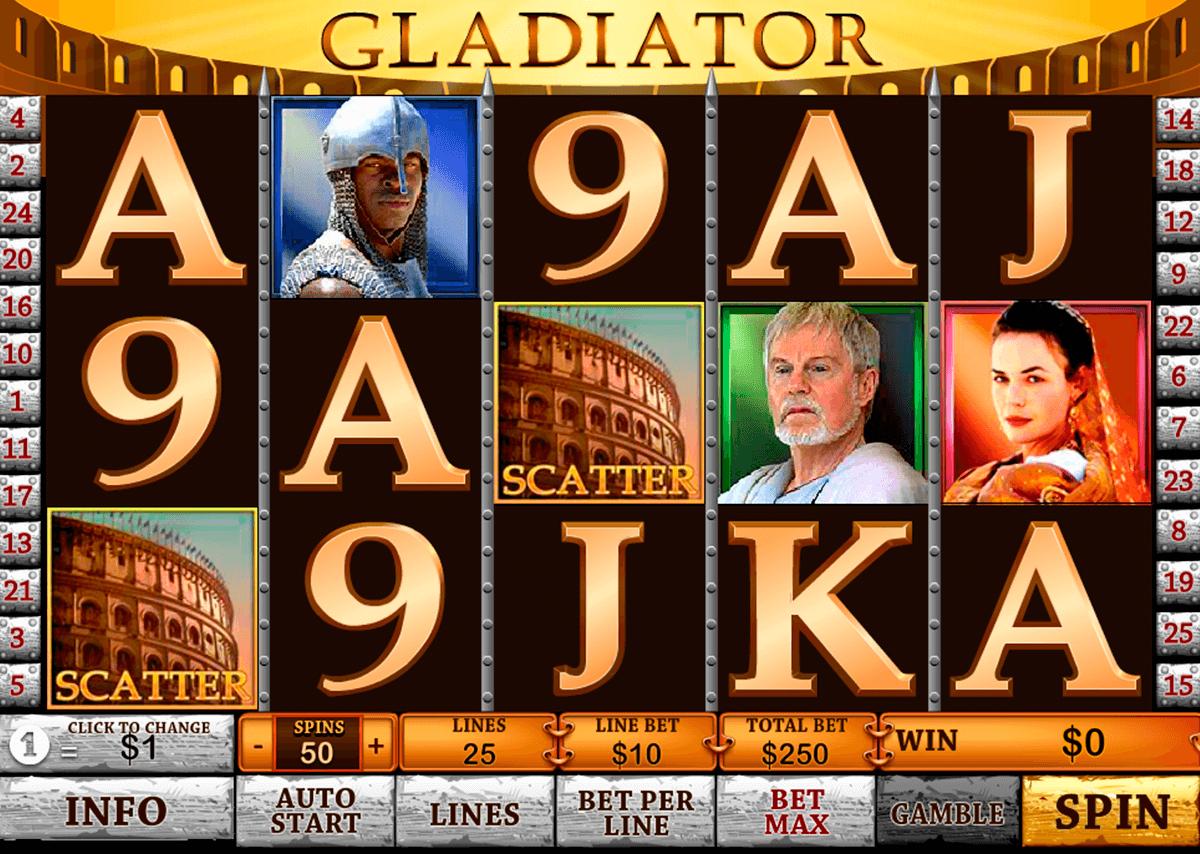 gladiator playtech pacanele
