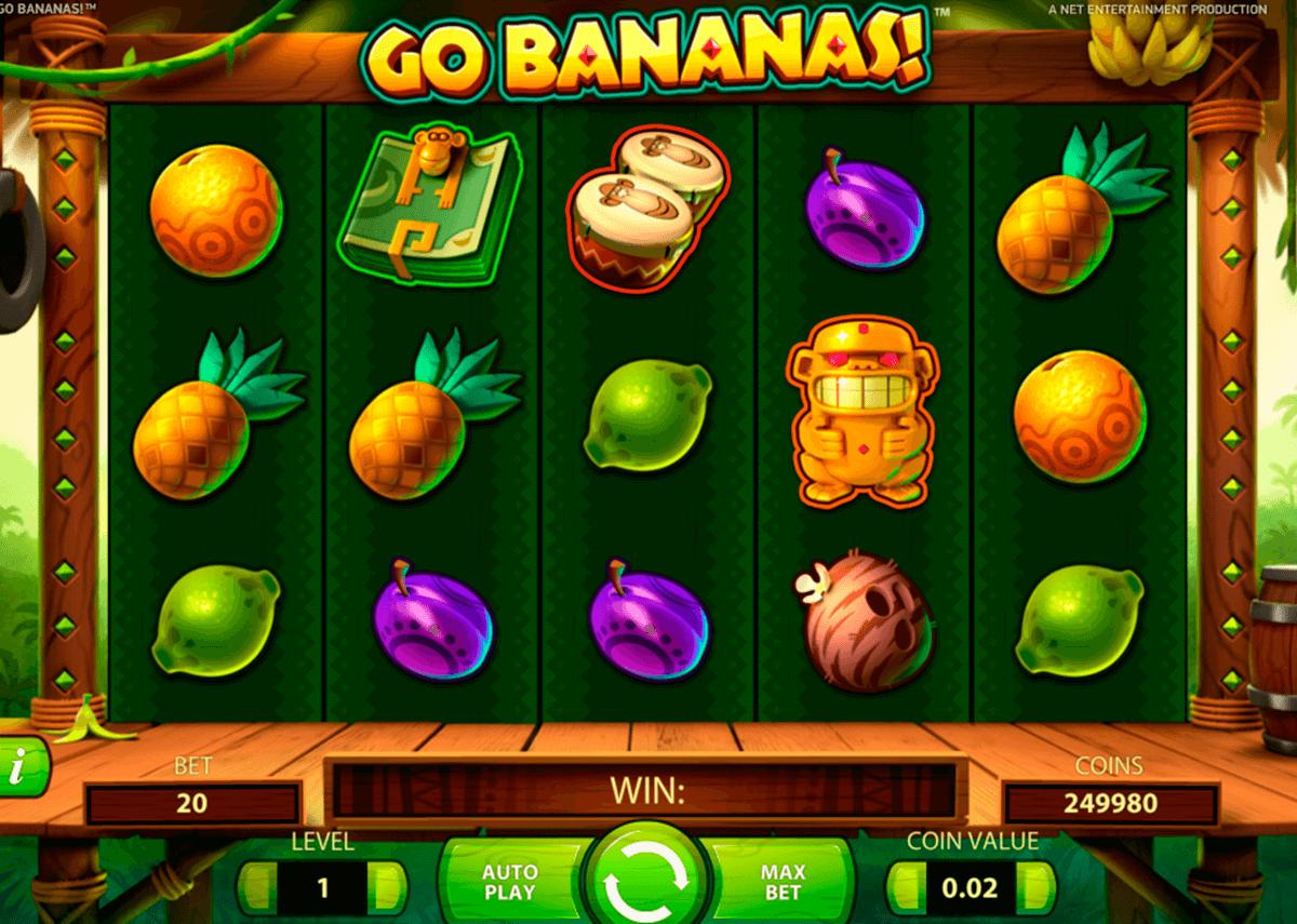 go bananas netent pacanele